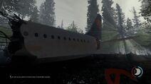 TheForest-AviónChocado1