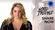 Good Trouble - Emma Hunton on Body Positivity - Freeform