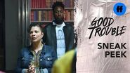 Good Trouble Season 2, Episode 7 Sneak Peek Will Malika Be On The Front Lines? Freeform