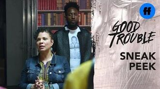 Good Trouble Season 2, Episode 7 Sneak Peek Will Malika Be On The Front Lines? Freeform