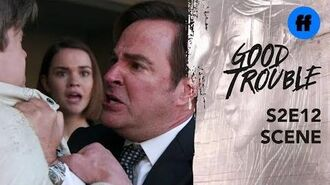 Good Trouble Season 2, Episode 12 Judge Wilson Shoves Callie Freeform