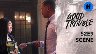 Good Trouble Holiday Special The Coterie Lease Is Up Freeform