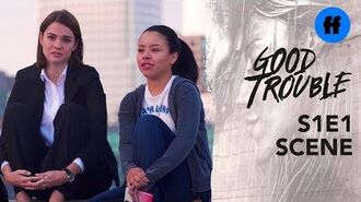 Good Trouble Premiere - Adams Fosters Don't Give Up - Freeform