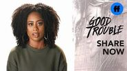 Good Trouble - Zuri Adele on Racial Profiling - Freeform