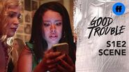Good Trouble Season 1, Episode 2 Mariana Disses Her Boss Freeform