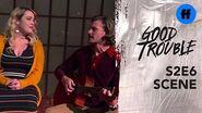 "Good Trouble Season 2, Episode 6 Dennis & Davia Sing ""Falling Slowly"" Freeform"