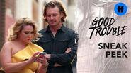 Good Trouble Season 2, Episode 4 Sneak Peek Davia Edits Her Instagram Photo Freeform