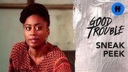 Good Trouble Season 1, Episode 12 Sneak Peek Protest Prep Freeform