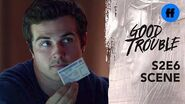 Good Trouble Season 2, Episode 6 Jamie Burns His Registration Card Freeform
