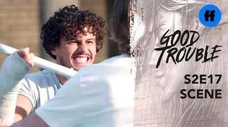 Good Trouble Season 2, Episode 17 Dennis & Gael Are Home Alone Freeform