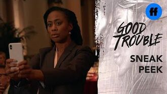 Good Trouble Season 2, Episode 11 Sneak Peek Malika vs. Judge Wilson Freeform