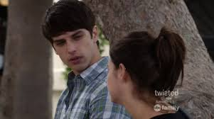 Callie talking to brandon