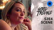 Good Trouble Season 2, Episode 4 Flashback to Bonnie's Last Visit Freeform