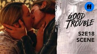 Good Trouble Season 2 Finale Dennis Tells Davia He Loves Her Freeform