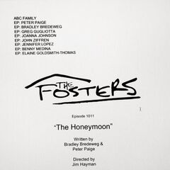The Honeymoon - The Fosters S01E11 - Script Cover