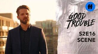 Good Trouble Season 2, Episode 16 Evan & Mariana Talk About Their Relationship Freeform