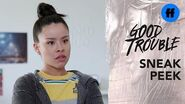 Good Trouble Season 1, Episode 3 - Sneak Peek- Mariana's Manager Steals Her Idea - Freeform