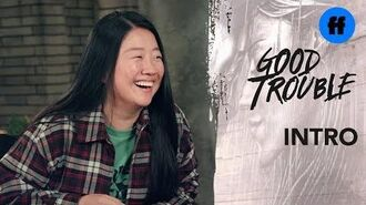 Good Trouble Character Introduction - Sherry Cola is Alice Kwan - Freeform