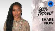 "Good Trouble x ATTN Season 2 ""The Trouble With"" Gentrification Freeform"