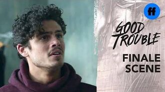Good Trouble Season 2 Summer Finale Gael & Elijah Are Done Freeform