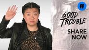 "Good Trouble x ATTN Season 2 ""The Trouble With"" Hiring Bias Freeform"