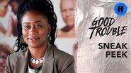 Good Trouble Season 2, Episode 7 Sneak Peek Malika's Job Interview Freeform