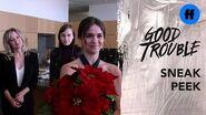Good Trouble Season 2 Holiday Special Sneak Peek The Adams Fosters & Hunters Reunite Freeform