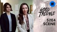 Good Trouble Season 2, Episode 4 Callie Helps Serve Joseph's Landlord Freeform