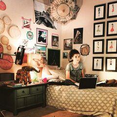 Callie's side of her room