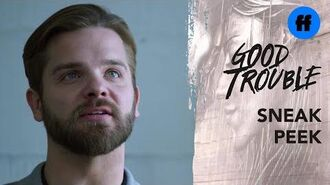 Good Trouble Season 2, Episode 17 Sneak Peek Evan Refuses to Condemn The Manifesto Freeform