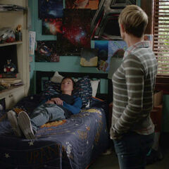 Jude's side of his room