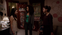 Hostile Acts-Callie accuses Mariana for looking her journal