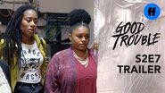 Good Trouble Season 2, Episode 7 Trailer Malika Has a Tough Choice to Make
