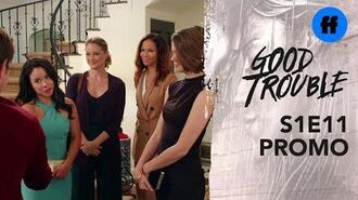 Good Trouble Season 1, Episode 11 Promo Judge Wilson Meets Stef & Lena