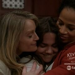 Callie is finally officially adopted by Stef and Lena.