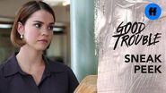 Good Trouble Season 2, Episode 7 Sneak Peek Legal Aid Office Gossip Freeform