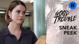 Good Trouble Season 2, Episode 7 Sneak Peek Legal Aid Office Gossip Freeform