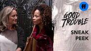 Good Trouble Season 2 Holiday Special Sneak Peek Stef & Lena Arrive Freeform