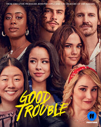Good Trouble 2B key art