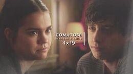 ❖ Brandon & Callie 4x19 Comatose