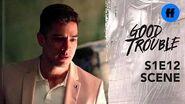 Good Trouble Season 1, Episode 12 Gael & Bryan Break Up Freeform