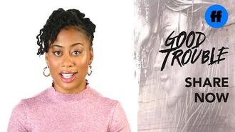 """Good Trouble x ATTN Season 2 """"The Trouble With"""" Trap Music Freeform"""