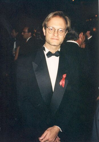 David Hyde Pierce at 47th Emmy Awards