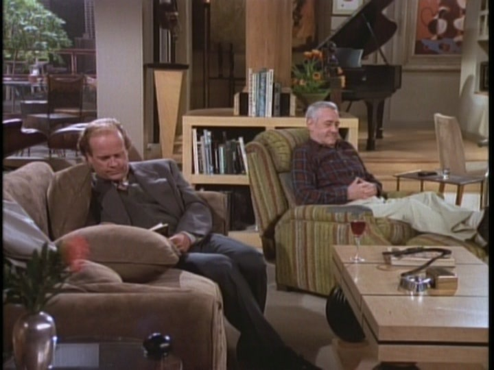 Frasier Desperately Wants To Read His Book But Martin Annoys Him