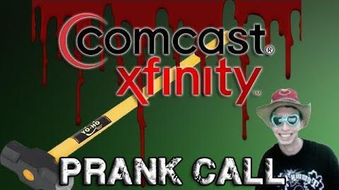 Mitch Calls Comcast.. CRAZY Prank Call