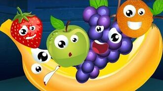 Five Little Fruits Nursery Rhyme Song For Kids
