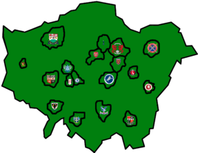 London Footy clubs map png