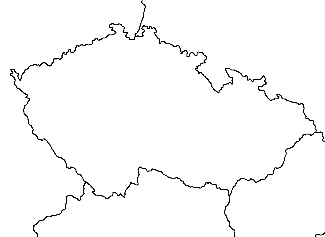 Image Blank Map Of The Czech Republicpng TheFutureOfEuropes - Czech republic map