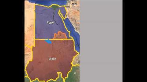 Video 3D Alternate War Simulation Episode 1 Egypt vs Sudan