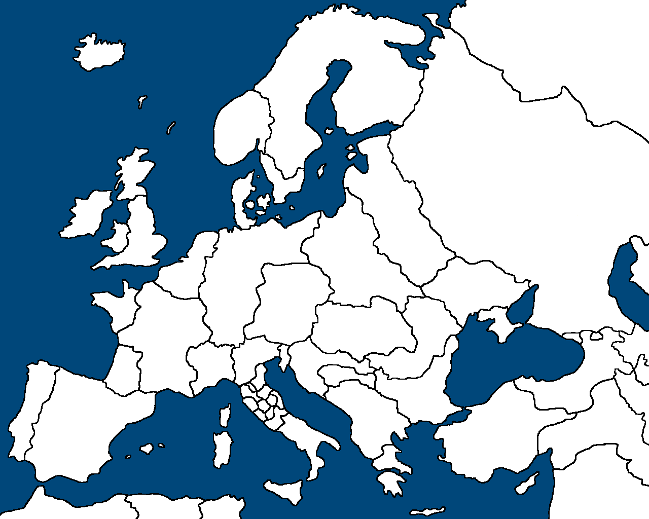 Image Simple Map of Europe TheFuture Europes Wiki